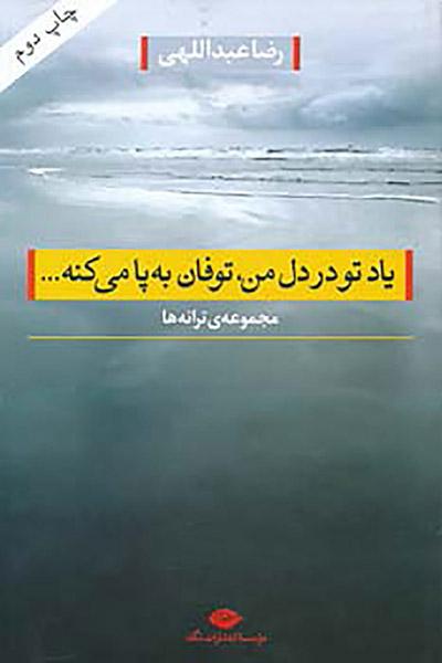 کاور کتاب یاد تو در دل من ، توفان به پا میکنه...